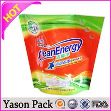 Yason aluminum foil bag food packaging for snack aluminum foil heat sealed bag for milk 1.89l user-friendly stand up bag with sp