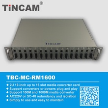 Big Selling Power supply media converter chassis from China Manufacturer