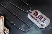 Fashion Dog Tags and Labels with Chain