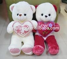 unstuffed teddy bear skins , red heart teddy bear