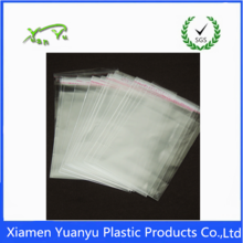 customized logo printing opp plastic packaging self seal cellophane bag