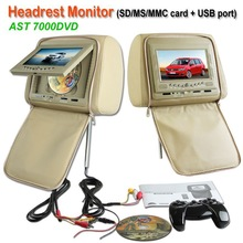 Guangzhou Factory price 7 inch headrest car dvd head unit