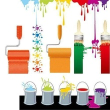 Low VOC water-base interior wall emulsion paint for home decoration