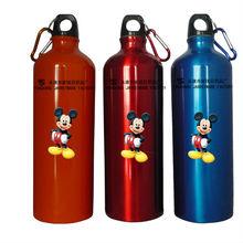 Shining Color Aluminum Sport Water Bottle AL Water Drinking Bottle