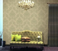 classic eroup style PVC deep embossed wallpaper vinyl wallpaper for spa decoration