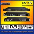 Dexin nds3343b цифровой спутниковый ресивер с mux-scr до qam модулятор