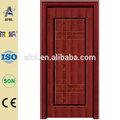 Zhejiang afol portes en bois massif avec l'acier inoxydable extérieur de la porte en bois massif