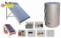 Split pressurized solar water heater solar power facts