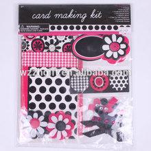 DIY handmade card kit, Greeting card making kit