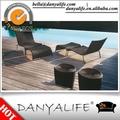 Dylg- d3101 danyalife al aire libre de mimbre de la resina de la piscina de natación dom balancín