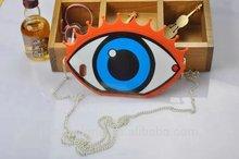 3D big eye fashion mobile carton phone case for iphone5