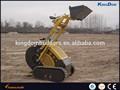 L'agriculture mini tracteur à chenilles chargeuse skid