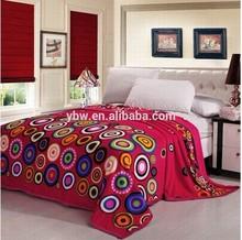 3D print super soft and warm flannel fleece blanket flannel bed quilt
