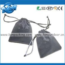 cosmetic Drawstring Velvet jewelry Bags