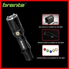 Bronte RC25 V2 USB rechargeable high power metal emergency flashlight with tactical kit