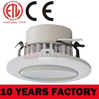 2014 UL and ES listed 6'' 18W commercial retrofit LED downlights for damp location