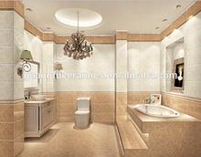 pairs design light and dark color tiles ,bathroom glazed tiles
