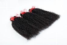 The newest 100% human Hair virgin bohemian curl boundle hair Weave Brazilian Hair