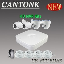 H.264 1080P 4CH POE NVR Kit