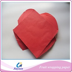 High Grade and Best Price Factory Direct Supply Red Tissue Paper,Colorful Fruits Wrapping