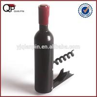 Novelty Wine Cork Bottle Opener Travel Plastic Corkscrew