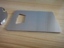 Manufacturer stainlesss steel blank bottle opener