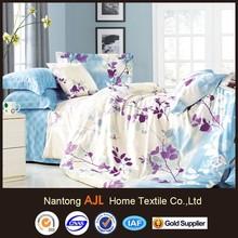 Flower ocean Super soft and beautiful customized design 100% cotton bedding sets 4pcs