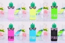 Pineapple Design Silicone Cute Case For iPhone 5 TPU Skin