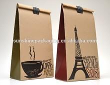 OEM machine making brown kraft paper coffee bag