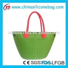 2015 China Manufacture Women Handbags Fashion Silicone tote bag