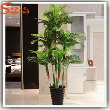 Phoenix palm large bonsai trees high-end simulation of wholesale bonsai trees,fake plastic large outdoor bonsai trees