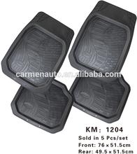 PVC material universal anti-slip decorative car floor mat/colorful mat
