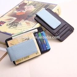 2015 NEW ARRIVAL leather money clip wallet, money clip wholesale(JX03)