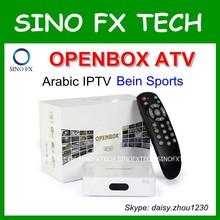 2015 newest IPTV live TV free OPENBOX aTV for Arabia Turkey Europ UK Philippines English Russia Germany Spain Switzerland