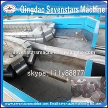 plastic extruder machine single wall corrugated pipe line