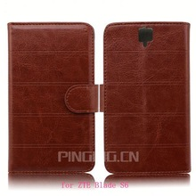 GuangZhou Pinjun supplier mobile phone case for ZTE Blade S6,leather case stand cover for ZTE Blade S6/Q7