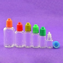 Alibaba china Wholesale ISO8317/SGS/TUV childproof cap pet 15ml e cigarette oil bottle refill bottle