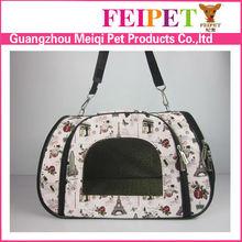 Wholesale beautiful pet carrier dog carrier handbag pet accessories