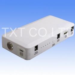 Emergency Power Li-polymer cell Mini Multi-tool jumpstart and air compressor 12v car batteries