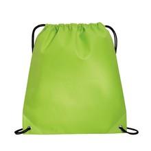 Wholesale customized green cotton drawstring bag