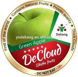New Invention Dekang Shisha Fruits - Green Apple Flavor