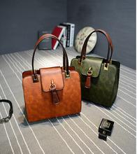 Most popular elegent PU leather lady handbag/tote bag wholesale