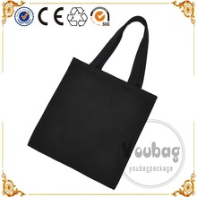 Standard size recyclable shopping organic cotton canvas tote bag