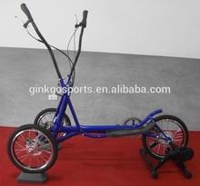 3 wheel outdoor elliptical bike with wheels cross trainer elliptic