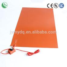 silicone rubber heater 12v heater electric aluminium foil heater