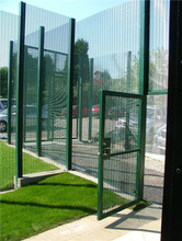 picture iron fence/used mesh fence