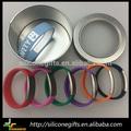 Logo personnalisé enfants silicone alerte médicale bracelet