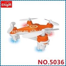 Novo 2,4g drone rc mini quadcopter com luz