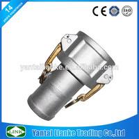 "aluminum 2"" floating hose camlock coupling"