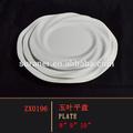 caliente venta nuevo diseño baratos melamina de bajo precio de la cena placa